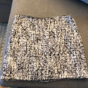 Alice + Olivia tweed skirt